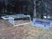 Truck rack and box for sale
