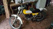 Vintage 1975 yamaha trials 175 two stroke dirt bike $1000