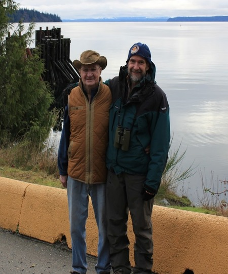 Sully & Mike at Whaletown Cortes Island