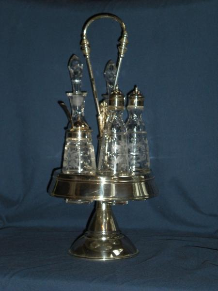 Victorian Cruet Set with ARIS coating