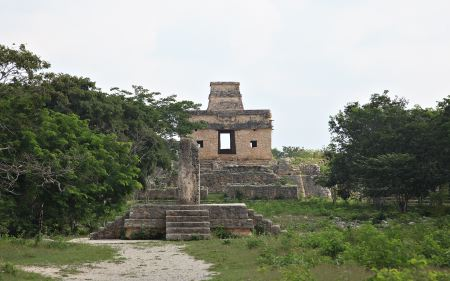 Temple of the 7 Dolls with sundial