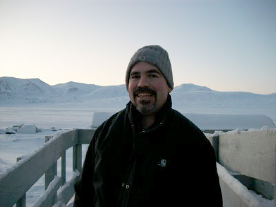 The mountains of Baffin behind me