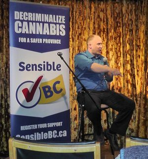 Dana Larsen Speaking about the Sensible BC Campaign