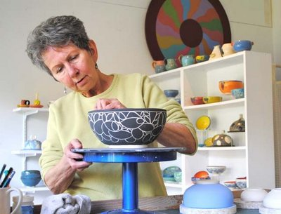 Cortes Island Potter, Diane Daly