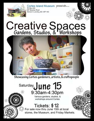 """Creative Spaces"" Tickets Now Available!"