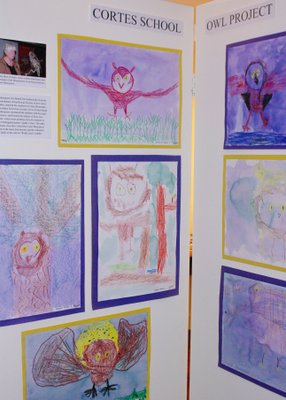 Owl Art by Cortes School