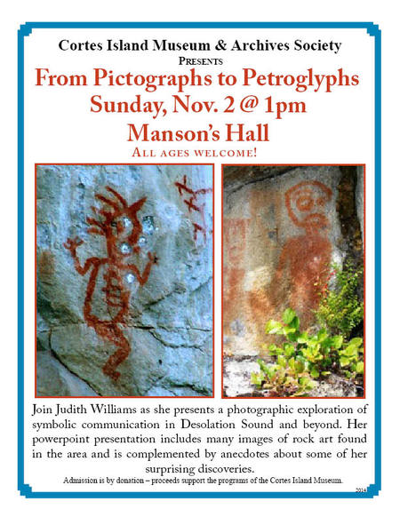 From Pictographs to Petroglyphs Talk
