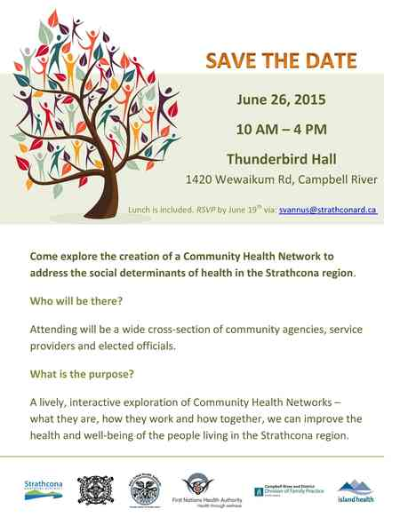 Strathcona Community Health Network Launch