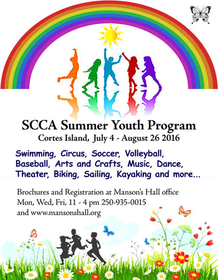 SCCA SUMMER YOUTH PROGRAM