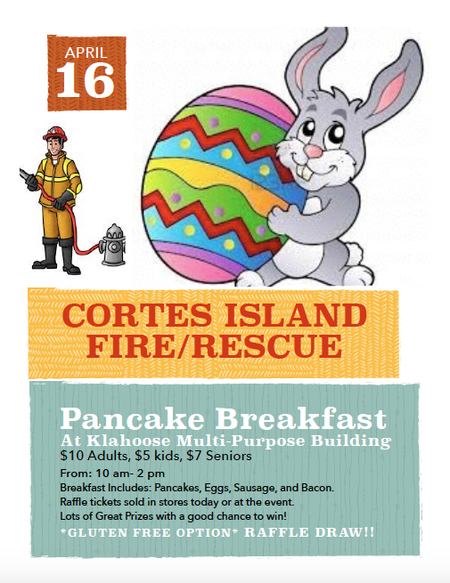Fire Fighters Pancake Breakfast April 16