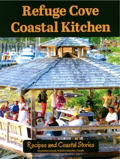 Refuge Cove Coastal Kitchen by Cathy Campbell.