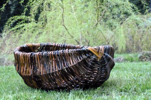 Woven Baskets by Maggie Armitage - Whaletown Willow