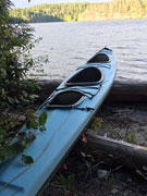 21ft Double 'Tofino' kayak