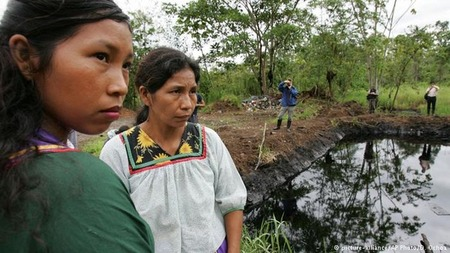 Indigenous Women at Chevron Pit
