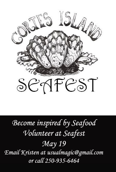 Volunteer at Seafest 2018 - call Kristen 250-935-6464