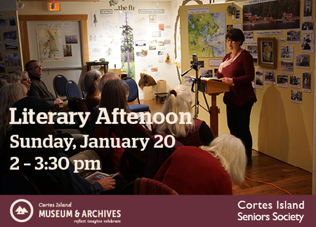 Literary Afternoon at the Cortes Island Museum