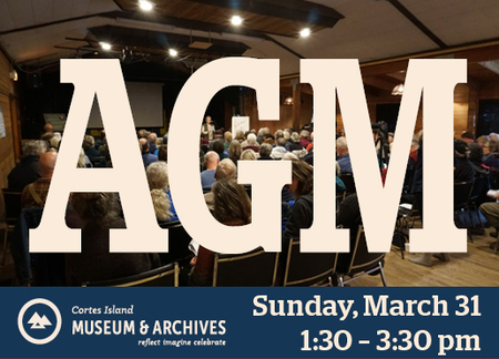 Cortes Island Museum & Archives – AGM