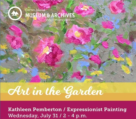 Art in the Garden with Kathleen Pemberton