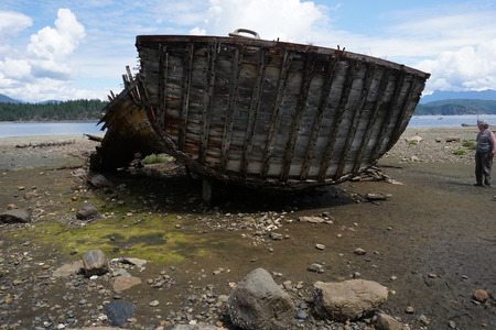 Read the story about Squirrel Cove shipwreck in our newsletter.