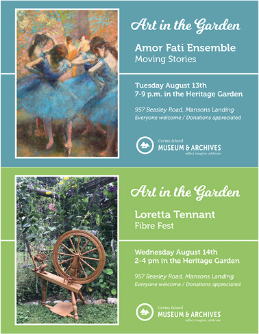 Art in the Garden - August 13 and 14