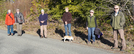 "Walking Group – March 20 – Keeping ""social distance"""