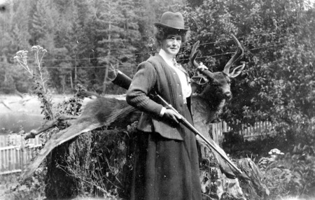 Margaret Nixon, Twin Islands, 1912. Courtesy Campbell River Museum