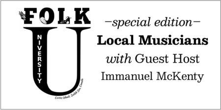 Spotlight on Local Music on Folk U Radio @89.5 FM