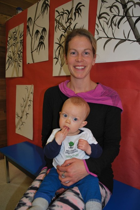 This year's Roots baby Cain, Mama Chelsea
