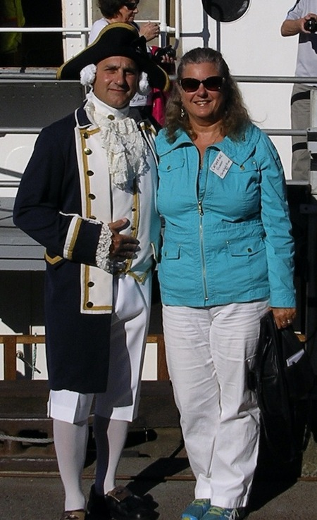 Catherine Gilbert and Captain Cook