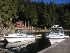 Come in one of our 26' Grady Whites, or take both for large groups and have your own fishing derby :)